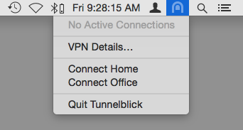 Using Tunnelblick - Tunnelblick | Free open source OpenVPN VPN